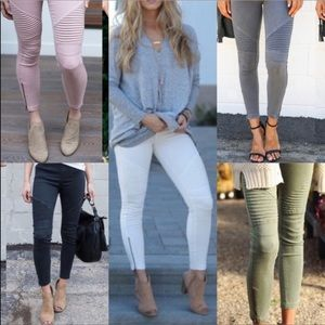 Pick 1! Plus Size Moto Legging